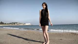 Kimber Delice posando  al lado del mar...photo 2