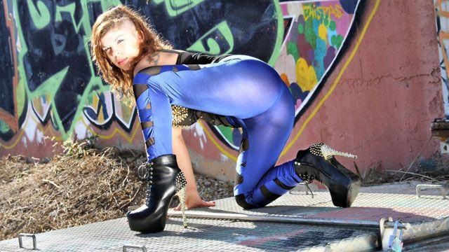 Kimy Blue Foto Sexy Gratis #017