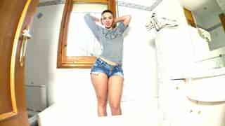 Pamela Sanchez webcam bathroomphoto 1
