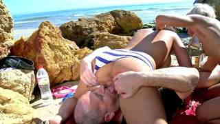 Porn video :   Stella Johanssen Nicky Wayne Terry Beach photo 06